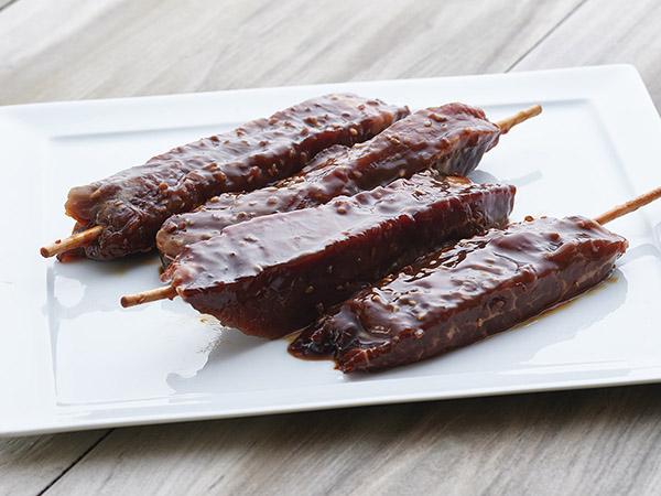 Teriyaki Beef Satays