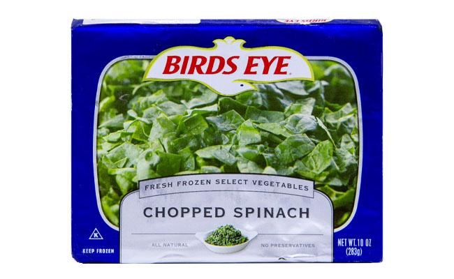 Bird's Eye Chopped Spinach