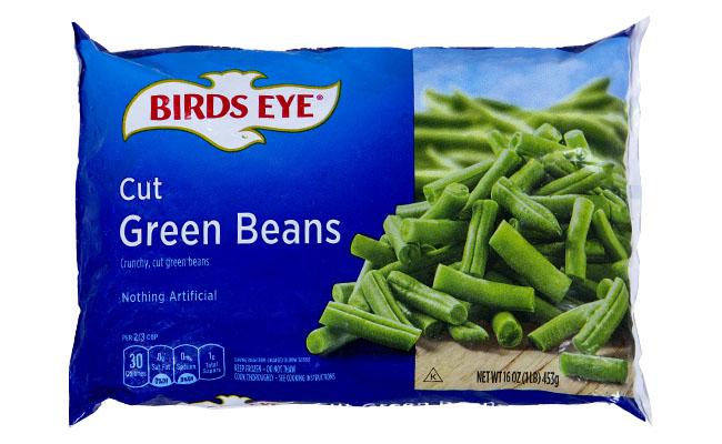 Bird's Eye Cut Green Beans