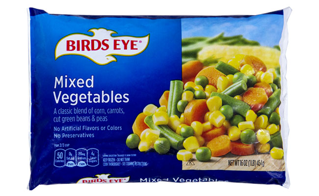 Bird's Eye Mix Vegetables