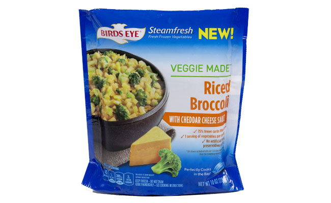 Bird's Eye Veggie Made Riced Broccoli Cheese