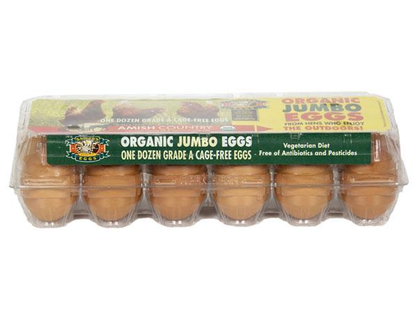 Sauders Eggs Organic Jumbo Eggs