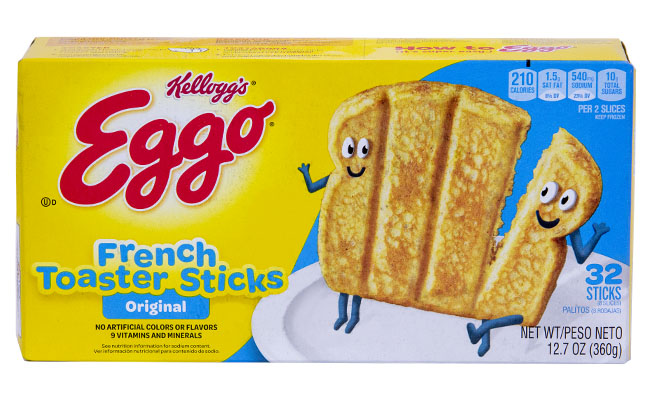 Kellogg's Eggo French Toaster Sticks Original