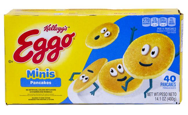 Kellogg's Eggo Mini Pancakes