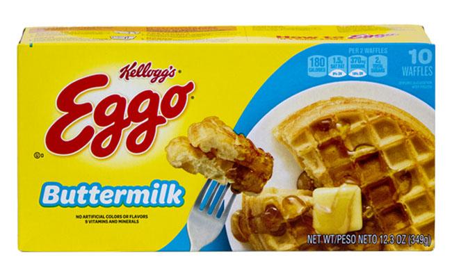 Kellogg's Eggo Buttermilk Waffles