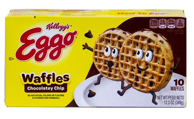 Kellogg's Eggo Chocolate Chip Waffles