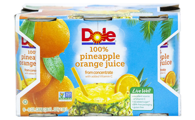 Dole Pine Orange Juice