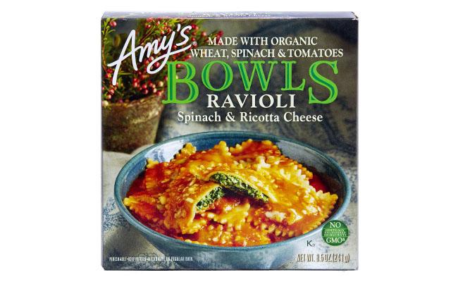 Amys Bowl Spinach Ravioli
