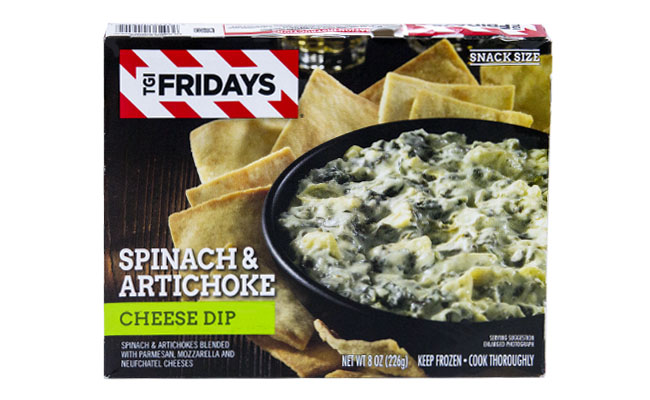 T.G.I. Friday's Spinach  Arichoke Dip