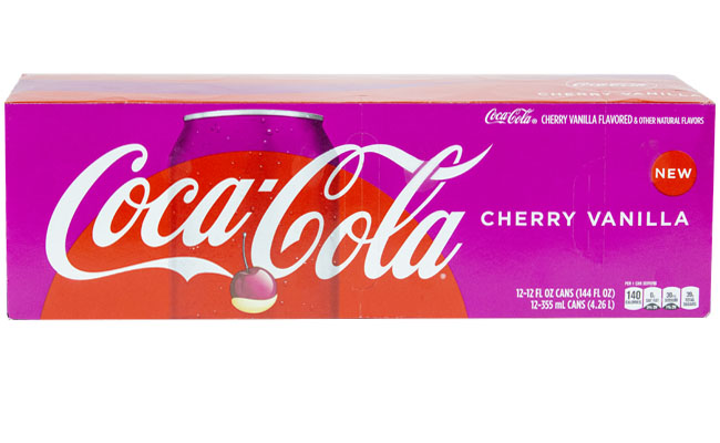 Cherry Vanilla Coke 12pk