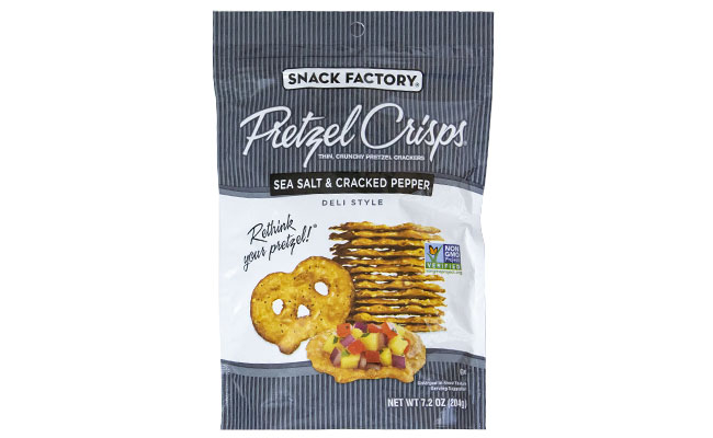 Pretzel Crips Sea Salt and Pepper