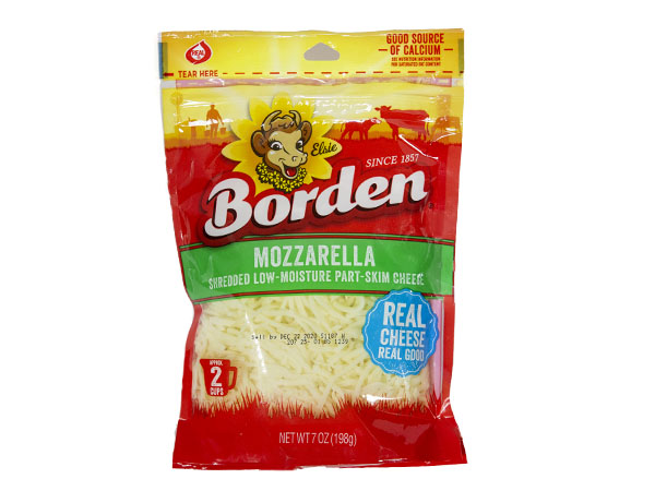 Borden Shreds Mozzarella