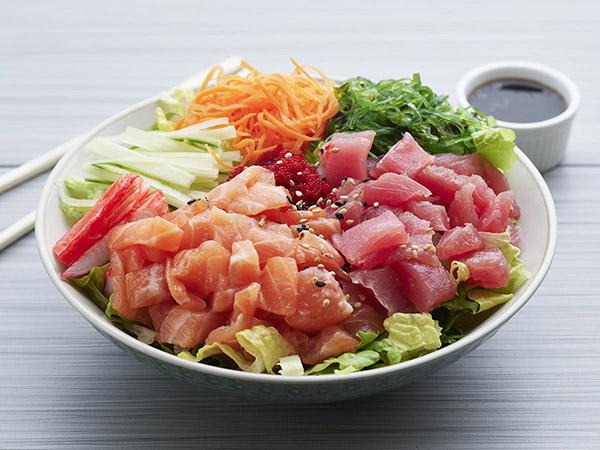 Salmon And Tuna Poke