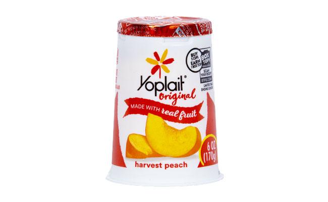 Yoplait Peach Yogurt
