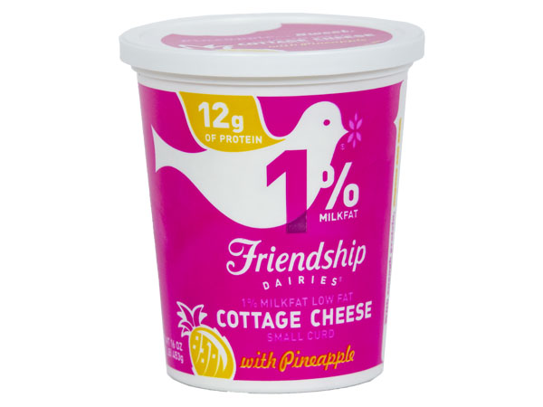 Friendship Low Fat Cottage Cheese With Pineapple