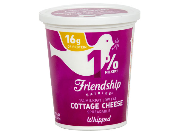 Friendshp Low Fat Whipped Cottage Cheese