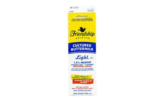 Friendship Buttermilk