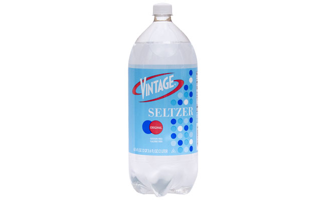 Vintage Seltzer 2 liter