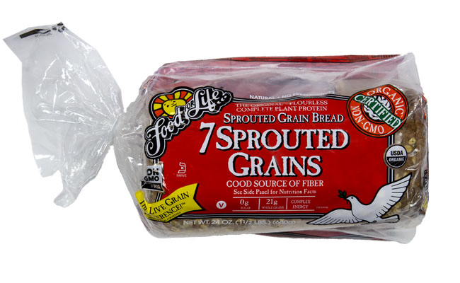 Food For Life 7 Sprouted Grains Organic Bread