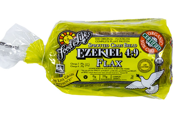 Food For Life Sprouted Grain Organic Flax Bread