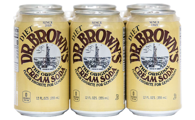 Dr. Brown's Diet Cream Soda 6pk