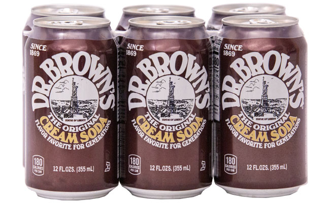 Dr. Brown's Cream Soda 6pk