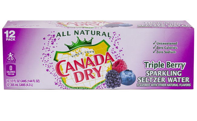 Canada Dry Triple Berry Seltzer 12pk