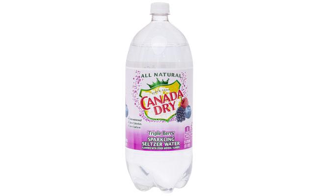 Canada Dry Triple Berry Seltzer 2 liter
