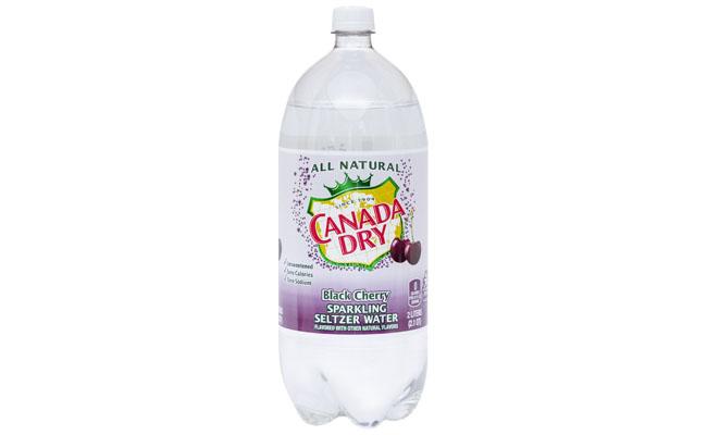 Canada Dry Black Cherry Seltzer 2 liter