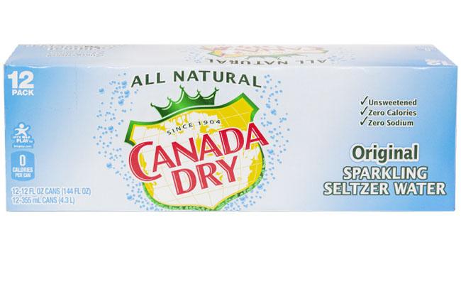 Canada Dry Original Seltzer 12pk