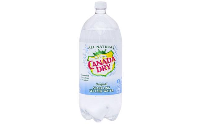 Canada Dry Original Seltzer 2 liter
