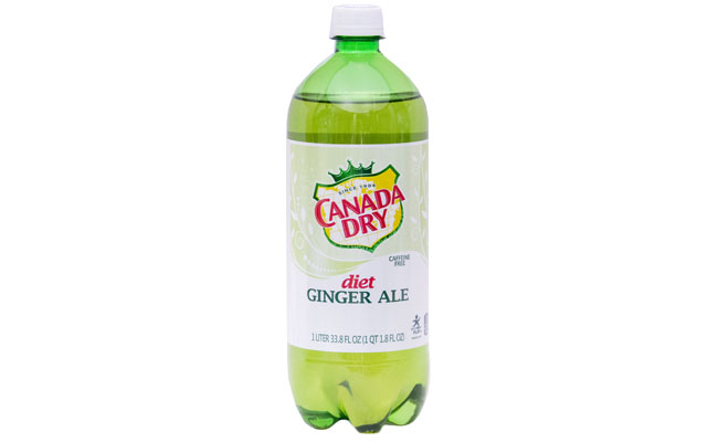 Canada Dry Diet Ginger Ale 1 liter