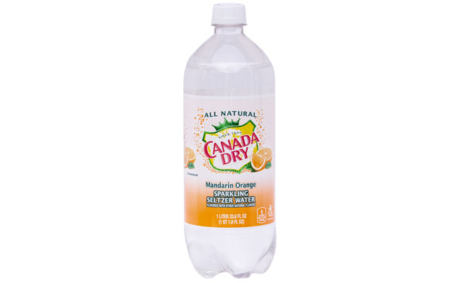Canada Dry Mandarin Orange 1 liter