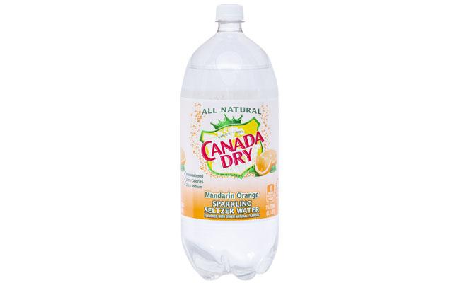 Canada Dry Mandarin Oranger Seltzer 2 liter
