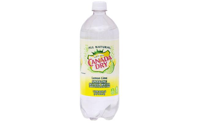Canada Dry Lemon Lime Seltzer 1 liter