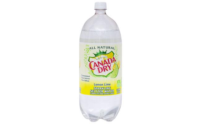 Canada Dry Lemon Lime Twist 2 liter