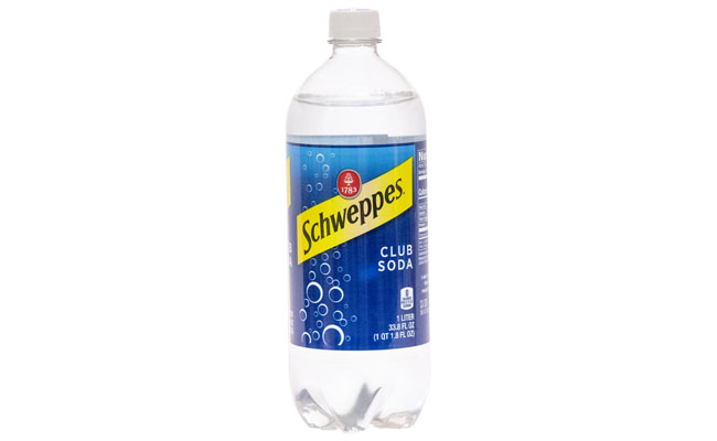 Schweppes  Club Soda 1 liter
