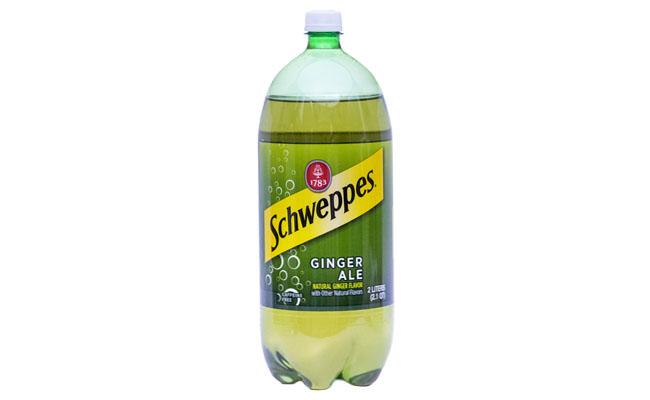 Schweppes Ginger Ale 2 liter