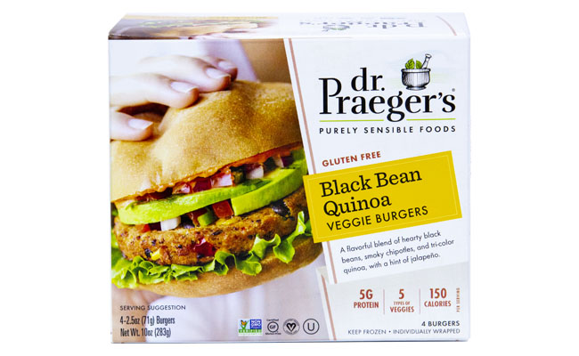 Black Bean Quinoa Veggi Burgers