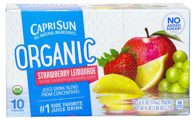 Capri Sun Strawberry Lemonade Jiuce