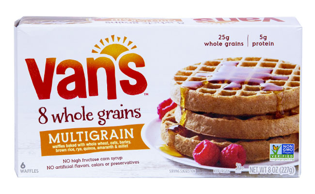 Van's 8 Whole Grain Multigrain Waffles
