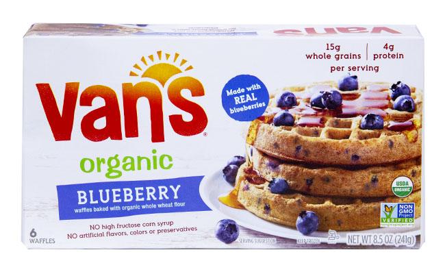 Van's Organic Blueberry Waffles