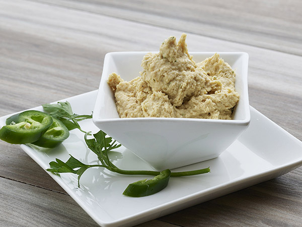 Hummus with Jalapeno