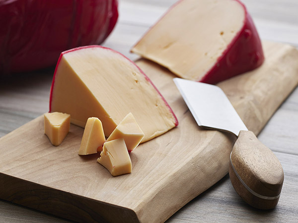 Red Wax Gouda Cheese