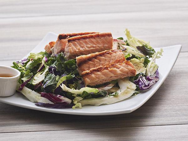 Salmon Superfood Kale Salad
