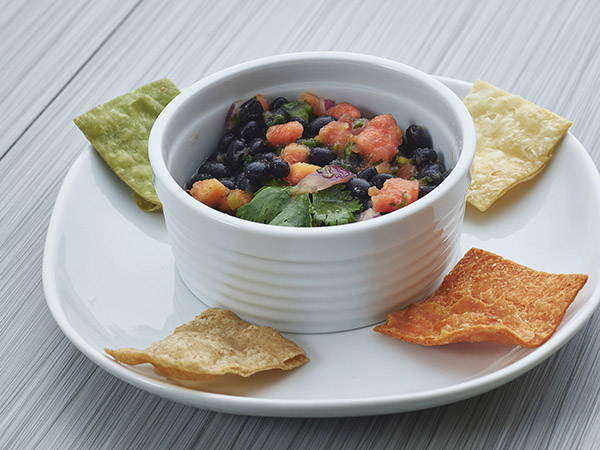 Black Bean & Papaya Salsa
