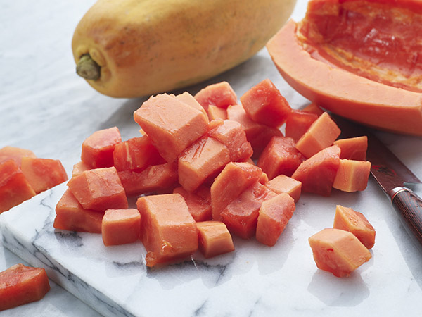 Cut Papaya Small
