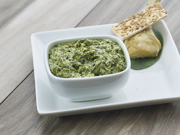 Spin & Artichoke Cheese Spread