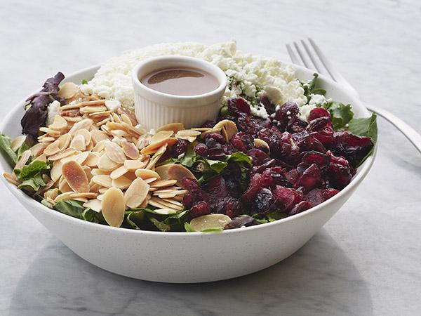 Mesclun Goat Cheese Salad