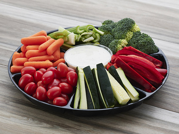 Compartment Crudite Platter